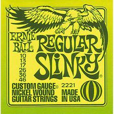 Saiten E-Gitarre Ernie Ball Slinky EB2221 010-046 Gitarrensaiten E- Gitarre NEU