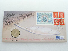 1994 Bank of England 300th Anniversary BU £2 Two Pound Coin First Day Cover