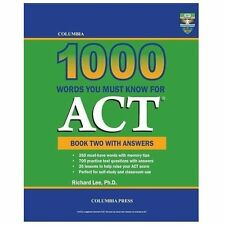 Columbia 1000 Words You Must Know for Act : Book Two with Answers by Richard...