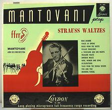 "12"" 33 RPM MONO LP - LONDON LL-685 - MANTOVANI - STRAUSS WALTZES (1953)"