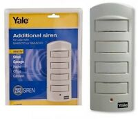 Yale SAA5030 Single Room Alarm Additional Siren 130DB Home Security With Cable