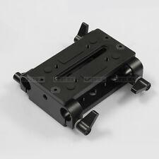 Tripod Mount 15mm Rod Support Cheese Base Plate fr Rail DSLR Rig Follow Focus V3