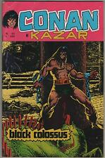 CONAN E KAZAR corno N.33 BLACK COLOSSUS ka-zar ka - zar shanna agents of shield