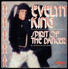 "EVELYN KING - SPAIN 7"" RCA 1981 - SPIRIT OF THE DANCER / DON'T HIDE OUR LOVE"