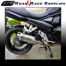 Suzuki BANDIT GSF 1250 2007-2017 A16 Stubby Stainless Exhaust with Link Pipe