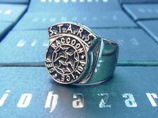 Resident Evil Biohazard RPD S.T.A.R.S. Army Silver Ring