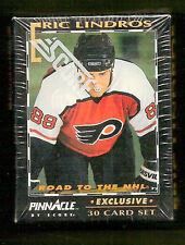 Eric Lindros 1992 Pinnacle Philadelphia Flyers 30-card Factory Sealed Hockey Set