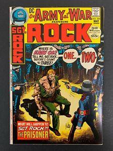 OUR ARMY AT WAR #245 *HIGH GRADE!* (DC, 1972)  JOE KUBERT COVER!!  LOTS OF PICS!
