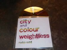 CITY AND COLOUR - WEIGHTLESS !!!!!RARE  CD PROMO FRANCE!!!!!!