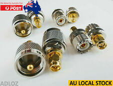 4x Variants UHF to SMA Male to Female RF Converter Connector Adapter PL259 SO239