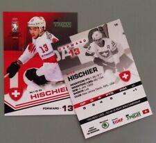 Taiga Nico Hischier Team Switzerland IIHF World Championship 2021