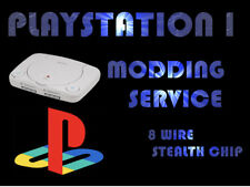 PS1 STEALTH CHIP MODDING SERVICE PLAYSTATION 1 PS1 & PSone SLIM  **MM3 or 8 WIRE