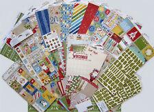 New! Bo Bunny [DEAR SANTA] Paper & Embellishment Set  [Save 50%] Set B