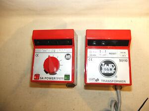 LGB Trafo 50110 und Elektronik-Trafo 51070