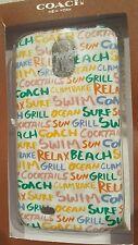 COACH Samsung Galaxy S4 Coach New York Summer Graffiti Cell Phone Case Cover NIB