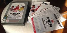 PC DVD vintage game FIFA FOOTBALL 2004 2 dischi ITA full