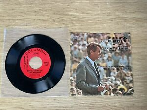 Robert Kennedy tribute 45 record picture sleeve Columbia 1968 Andy Williams