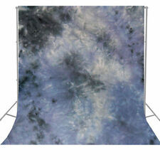 Hand Painted Background Photo Studio  Dyed Muslin Backdrop Grey 6x9