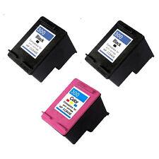 3 cartuchos Non-Oem 300 XL Deskjet f4210 f4272 f4275 f4280 f4424 f4435 f4400