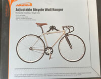 "50 N271-015  6/"" x 2.75/"" Vinyl Coated Bike Storage Screw In Hanging Hooks"