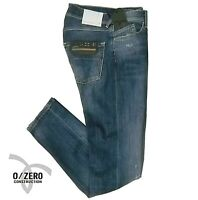 Jeans uomo 0/ZERO CONSTRUCTION 0 slim fit FABACO SWC540 pantalone elasticizzato
