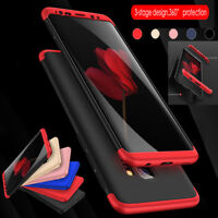 ShockProof 360 Hard Thin Case Cover For Samsung Galaxy S7 edge S8 S9 Plus Note 9