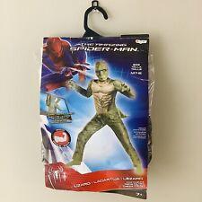 Lizard Classic Muscle Kids Size M 7-8 Costume Spiderman Villain Marvel
