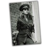 War Photo woman military in uniform Nice sexy Girl WW2 4x6 M