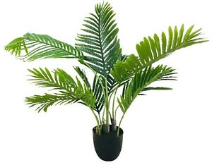 Artificial Palm Tree 100cm Realistic Fake Plant Potted Indoor Outdoor Decor