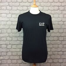 EA7 EMPORIO ARMANI MENS INT UK M  BLACK CORE ID SHORT SLEEVE T SHIRT
