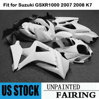 Unpainted Bodywork Fairing Kit For Suzuki GSXR1000 2007 2008 K7 GSX-R 1000 07 08