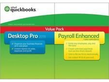 Intuit QuickBooks Desktop Pro 2019 with Enhanced Payroll