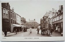 High Street, Oakham,  Rutland, S 2083, Kingsway Photo Series, Postcard