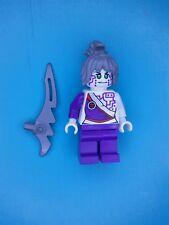 Lego Ninjago Minifigure Pixal Rebooted with sword 70724 Ninjacopter Rare!