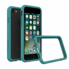 iPhone 8/7 Bumper Case RhinoShield [11 Ft Drop Tested] ShockProof Tech-Teal Blue