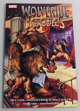 Esz2202. Marvel Comics: Wolverine/Hercules Myths, Monsters & Mutants Tpb