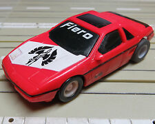 para H0 coche slot racing Maqueta de tren Pontiac Fiero con TYCO CHASIS