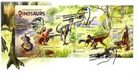 "2013 FDC Australia's Age of Dinosaurs. M.S. ""Dinosaur"" Pict.FDI  ""INVERLOCH"""
