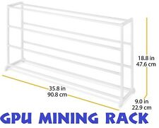 Multipurpose GPU Mining Rig Rack Case Frame Bitcoin AMD NVIDIA GTX RX 580 1070