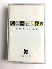 GENESIS - TURN IT ON AGAIN : THE HITS - Cassette - I KNOW WHAT I LIKE etc.