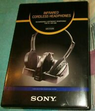 SONY MDR-IF240RK  INFRARED CORDLESS HEADPHONES RECHARED LIGHTWEIGHT TV HIFI USE