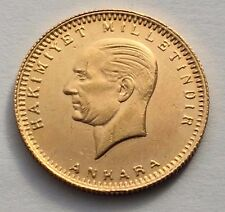 1923/70 TURKEY GOLD 100 KURUSH ATATURK COIN