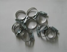 "STAINLESS STEEL BAND HOSE CLAMP 3/4""-1-1/2"""" AMGAUGE #16 CLAMPS 10 PIECES"