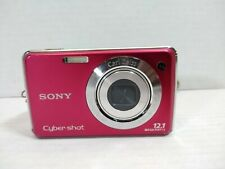 Sony Cyber-shot DSC-W230 12.1MP Digital Camera - Red untested camera only