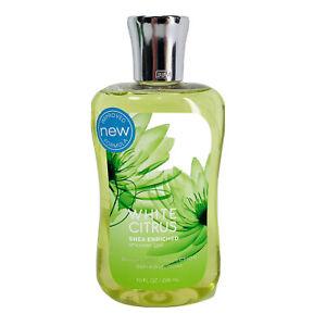 Bath & Body Works White Citrus Shower Gel Signature Collection 10 oz. New