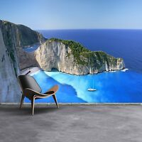 Paper Wall Mural Photo Wallpaper Poster Picture Image Zakynthos, Greece