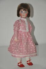 Simon und Halbig Puppe ANTIK Kämmer Reinhardt Porzellankopf Kleid antique doll