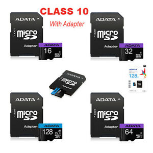 16GB 32GB 64GB 128GB Micro SD Card TF Class 10 For Android Nintendo Camera Phone