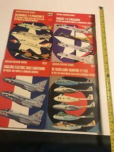 Aircam Aviation Series - Aviation - WWII - No.  30 (vol. 1), 31, 33, 37 (4 Books