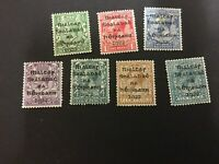 1922 Eire Irish Free State Overprinted Stamps (set of 7)